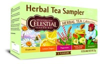 Herbal Tea Sampler - 18 Teebeutel - Celestial Seasonings Kräutertee