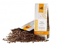 Happy Haselnuss - aromatisierter Kaffee 250g gemahlen