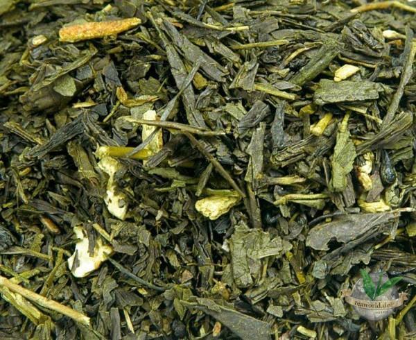 Bio Orange - Grüner Tee