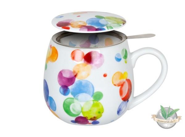 Kuschelbecher Tea for you - Colourful Cast Bubble