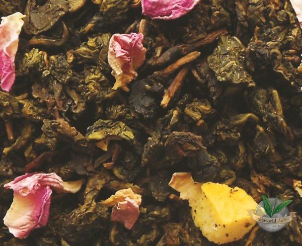 Oolong Blüte von Taiwan - halbfermentierter Tee