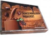 Familien Probierset Trinkschokolade mit 9x5 Monbana Portionspackungen