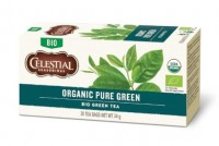 Organic Pure Green Tea - 20 Teebeutel - Celestial Seasonings Tee