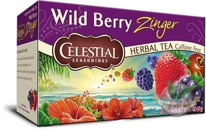 Wild Berry Zinger - 20 Teebeutel Früchtetee - Celestial Seasonings Tee