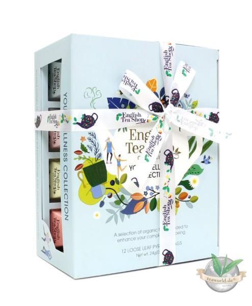 "NEU - English Tea Shop - Teegeschenk mit Schleife Your Wellness Tea Collection"""