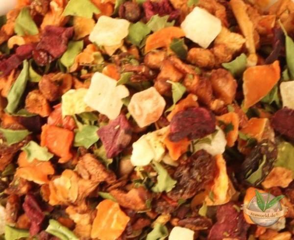 Moringa natürlich - milder Früchtetee mit Maracuja Geschmack