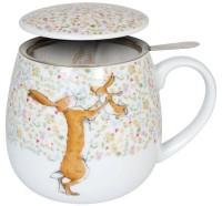 Kuschelbecher Tea for you - Ich hab dich lieb bis zum Mond