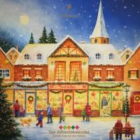Adventskalender mit Tee - Motiv Weihnachtskugeln 2019