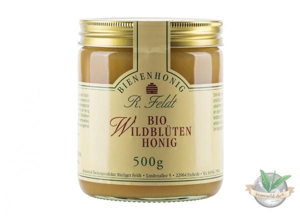 Bio Wildblüten Honig 500g
