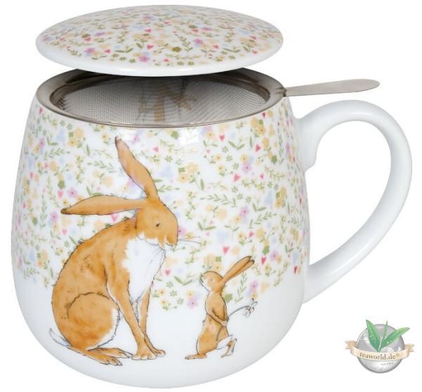 Kuschelbecher Tea for you - Rate mal wie lieb ich dich hab