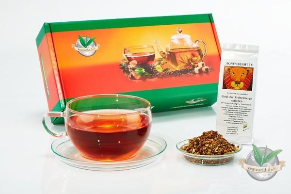 6x50g Honeybush Tee Probierpaket Tee kaufen leicht gemacht