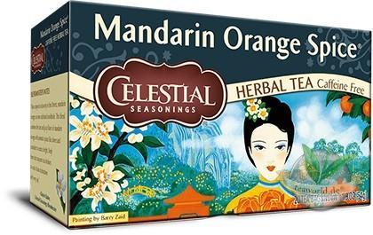 Mandarin Orange Spice - 20 Teebeutel - Celestial Seasonings Tee Früchtetee