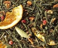 Sencha Orangenplätzchen - Grüner Tee
