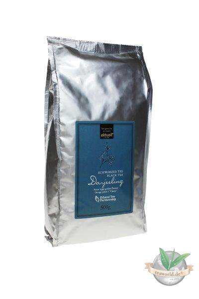 Schwarzer Tee - Darjeeling first-flush aktuell 1000g