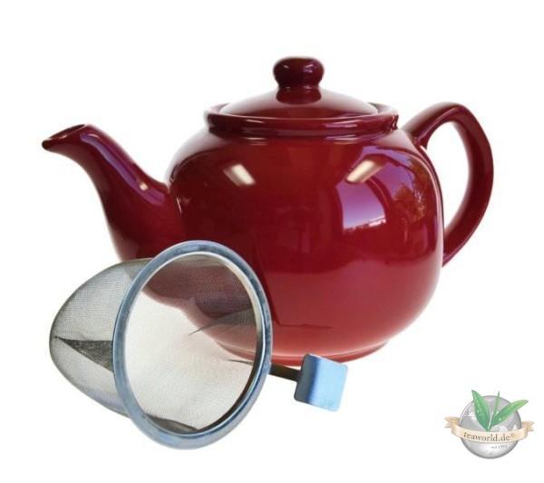 Shamila® – 1,2 Liter Teekanne LOVE mit Einsatzsieb