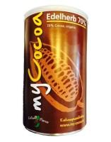 Bio MyCocoa Edelherb mit 70% Kakaoanteil - 375g Dose
