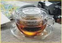 Tea for one Jenaer - Trendglas mit Glasfilter