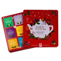 English Tea Shop - Wintertee-Kollektion in edler Metalldose rot - 72 Teebeutel