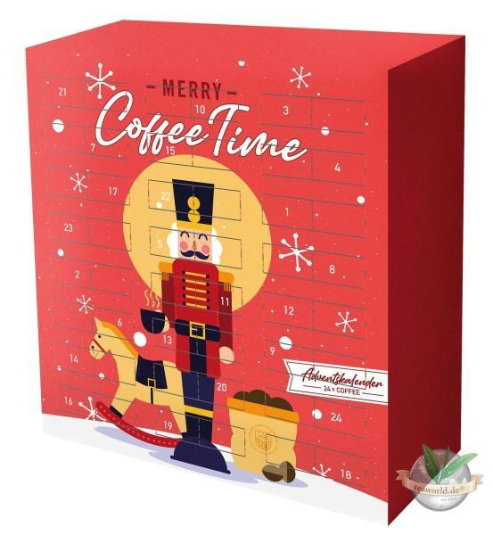 Kaffee Adventskalender himmlischer Kaffeegenuß mit 24 Sorten Kaffee