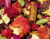 Rote Winterbowle - aromatisierte Früchte-/Gewürzteemischung