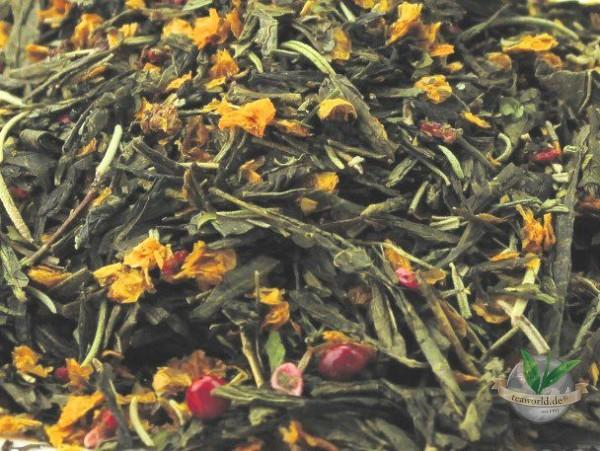 Bio Himbeersommer Rosmarin - Grüner Tee