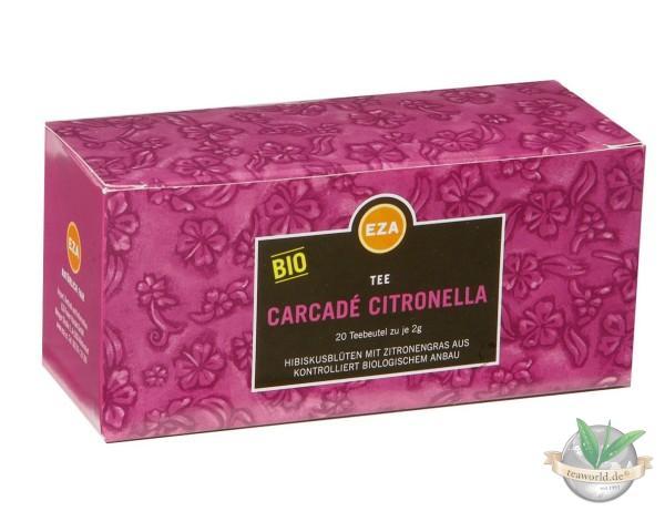 Bio Hibiskusblüten mit Zitronengras aus fairem Handel - Carcade Tee - Fairtrade