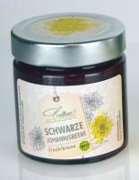 Schwarze Johannisbeere in Honig - Brotaufstrich 250g