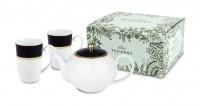 Tee Set Tealicious - Cobalt Golden - Kanne + 2 Becher