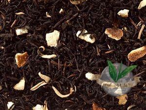 Schwarzteemischung Orange entkoffeiniert - aromatisiert