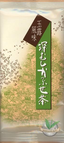Japan Sencha Kabuse Fukamushi Premium - japanischer Grüntee im Originalgebinde