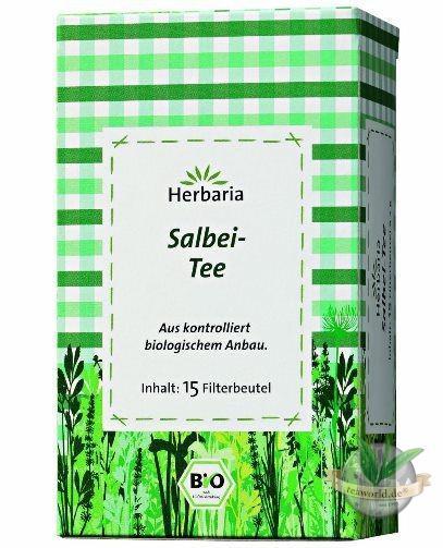 Bio Salbei Tee Filterbeutel von Herbaria