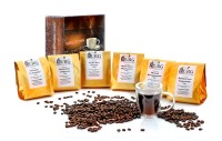 Kaffee Probierset klassisch - 6x100g Röstkaffee in Bohnen