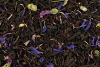 Blue Baron - Schwarzer Earl Grey Tee