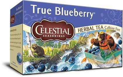 True Blueberry 20 Teebeutel Früchtetee - Celestial Seasonings Tee -kurzes MHD
