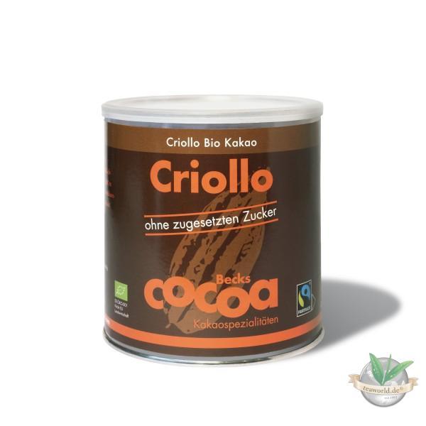 Reiner, dunkler Bio Kakao 100% - Becks Cocoa - 1200g