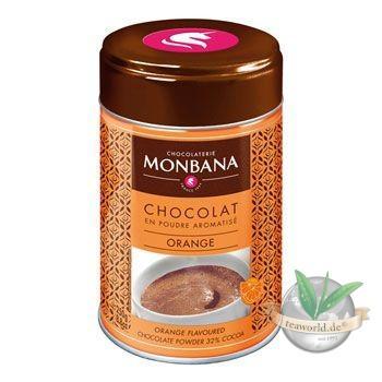 Flavoured Chocolate Powder Orange Monbana Trinkschokolade