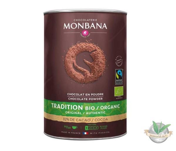 Monbana Bio Fairtrade Chocolate Powder 1000g