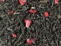 Grüntee China Sencha entkoffeiniert (Erdbeer-Note) aromatisiert