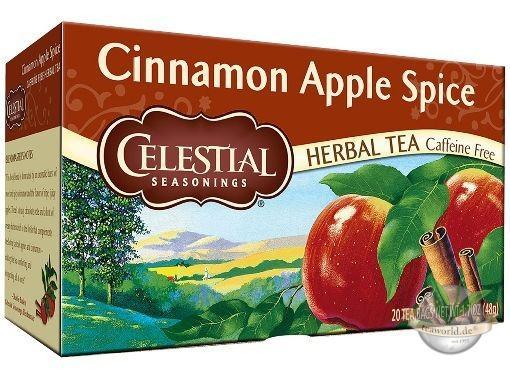 Cinnamon Apple Spice - 20 Teebeutel - Celestial Seasonings Tee Früchtetee