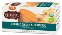 Organic Ginger & Turmeric - Bio Celestial Seasonings Tee