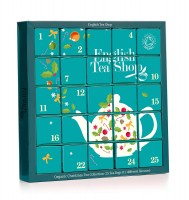 "English Tea Shop Tee Adventskalender ""Candy Cane"", 25 einzelne Boxen - grün"