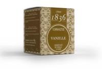 "Schwarztee Vanille - 15 Pyramidenbeutel ""Tea since 1836"""