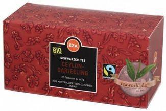 Bio Fairtrade Ceylon-Darjeeling Schwarztee Teebeutel 24x2g