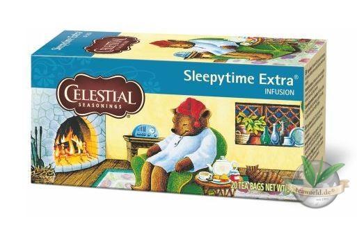 Sleepytime Extra Tea - 20 Teebeutel - Celestial Seasonings Tee
