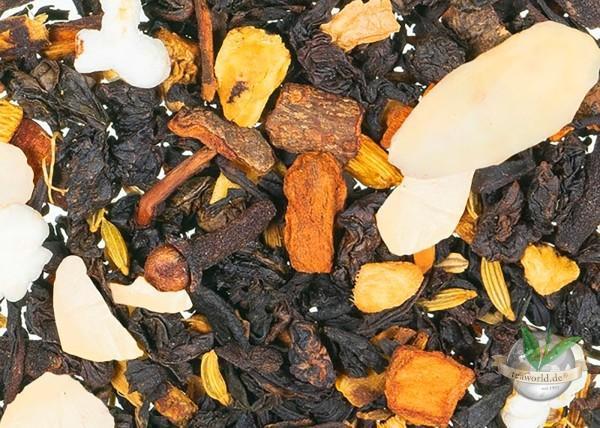 Orientalische Mandelmilch - schwarzer Tee