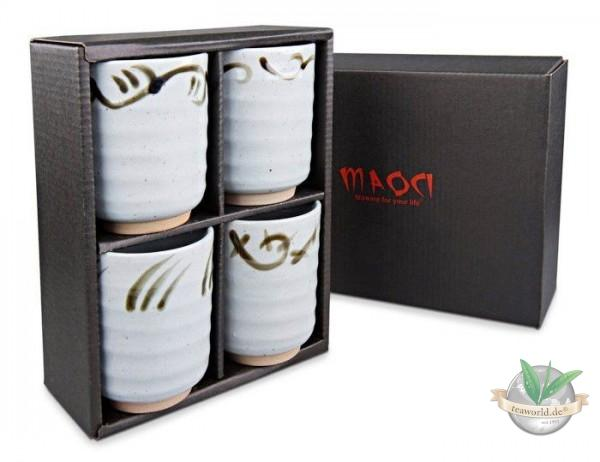 Japanisches Teebecher Geschenkset