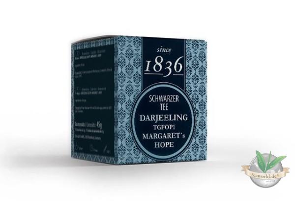 Schwarzer Tee Darjeeling Margaret´s Hope 15 Pyramidenbeutel