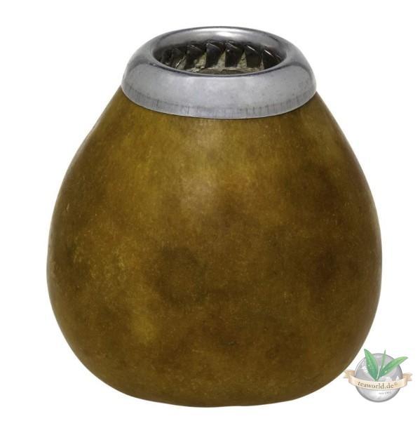 Calebasse, hellbraun - Mate-Trinkgefäß