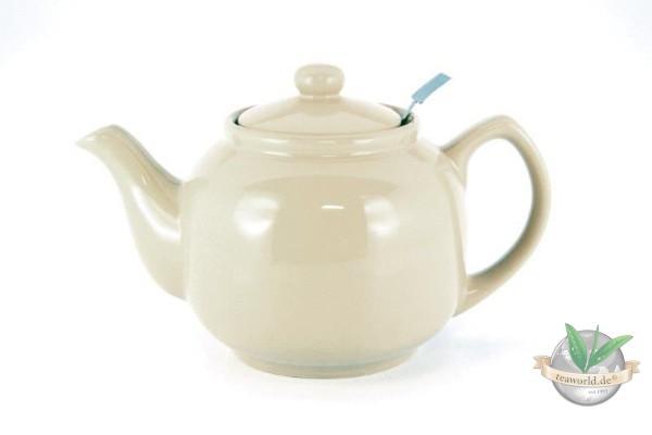 Shamila® – 1,2 Liter Teekanne SOFT-SAND mit Einsatzsieb
