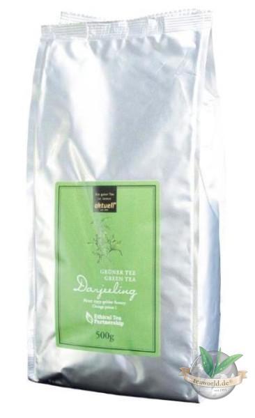 Grüner Darjeeling Tee FTGFOP1 aktuell